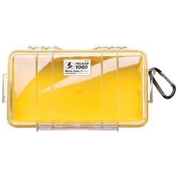 Pelican 1060 Case - Clear / Yellow