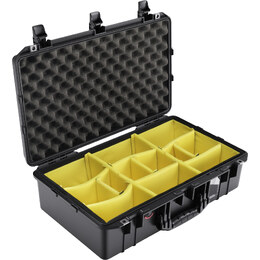 Pelican 1555 Air w/ Dividers Black