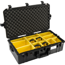 Pelican 1605 Air w/ Dividers Black