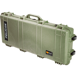 Pelican 1700 with Foam Drab Green