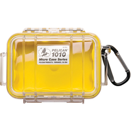 Pelican 1010 Case - Clear / Yellow