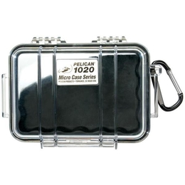 Pelican 1020 Case - Clear / Black