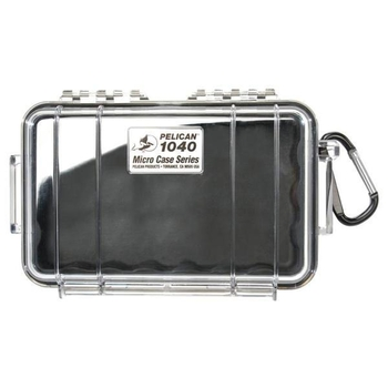 Pelican 1040 Case - Clear / Black
