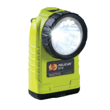 3715 Firemans Safety Light - Yellow