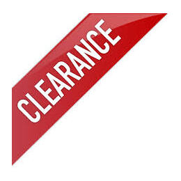 ## CLEARANCE ITEMS ##